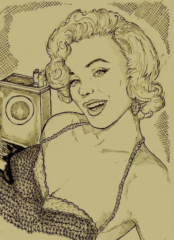 Marilyn Monroe by didgiv